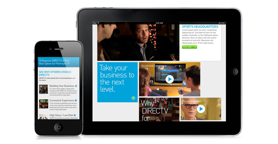 DIRECTV National Accounts Site