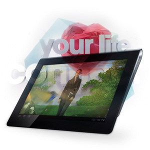 Sony Tablet Retail Application & Videos